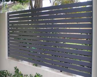 Metal Privacy Screen To You Can Look Forward To High Quality And Cost Effective Fencing Solutions The Latest Power Coated Wood Gain Technology Make The Aluminium Privacy Orient Metal Products